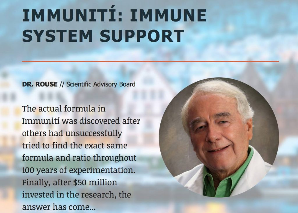 Immuniti: Immune system support with Dr. Rouse